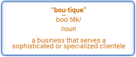 boutique definition